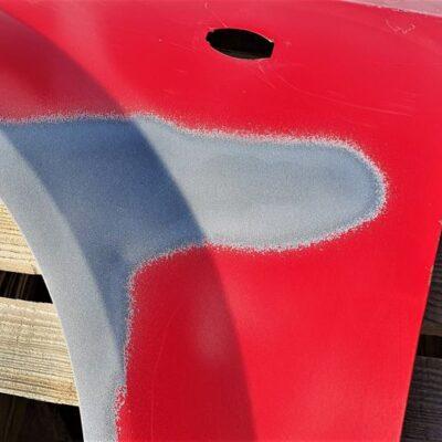 Газотермическое нанесения цинкового покрытия на автомобильную деталь