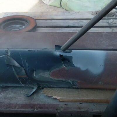 Газотермическая очистка нефтяной трубы от пены «ПОЛИКЕН»